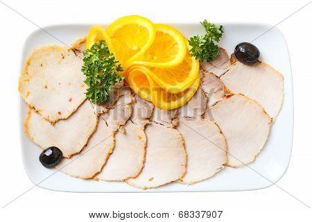 Sliced Cold Boiled Pork