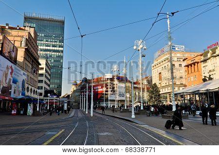 Main Zagreb City Square