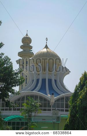 Dome of Penang State Mosque in Penang