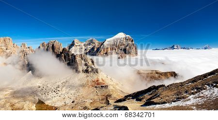 Panorama Of Italian Alps - Group Togfana