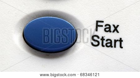Start Fax Blue Button
