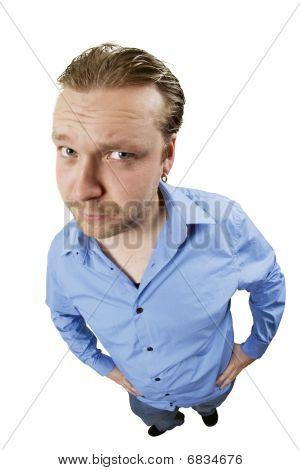 Skeptical Male