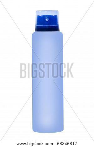 Azure Deodorant Container.isolated.