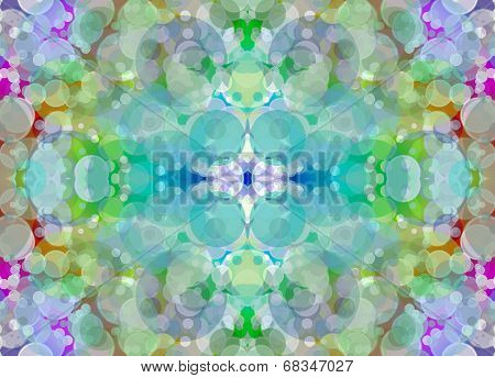 Kaleidoscope Multicolored Blurry Abstract Background.
