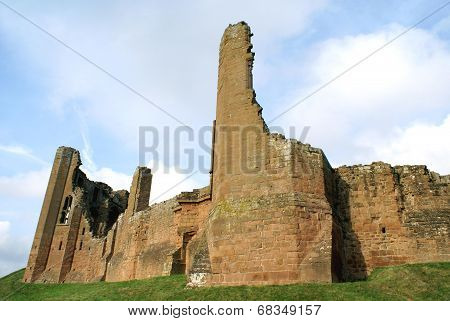 ruined Elizabethan castle