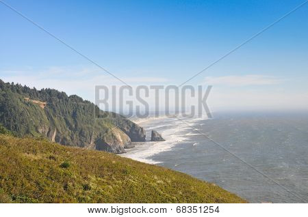 Coastline Along Highway 101