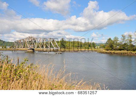 Bridge Over River, Washington State