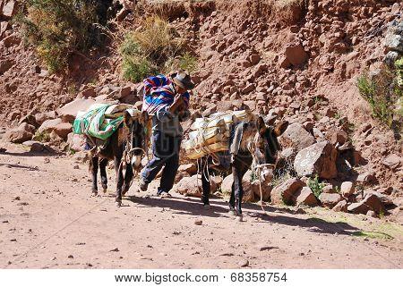 Old peruvian people