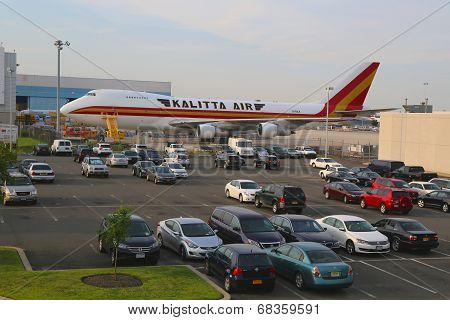 Kalitta Air Boeing 747 at JFK Airport in New York