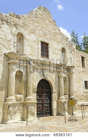 The Historic Alamo, San Antonio, Texas, USA