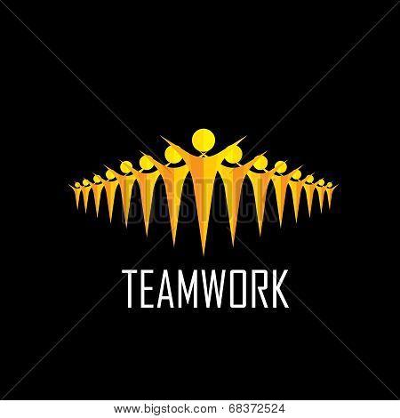 Team, Teamwork, Community, Togetherness - Vector Concept