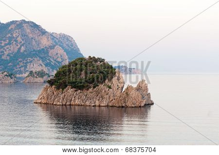 Coastline In Marmaris Icmeler