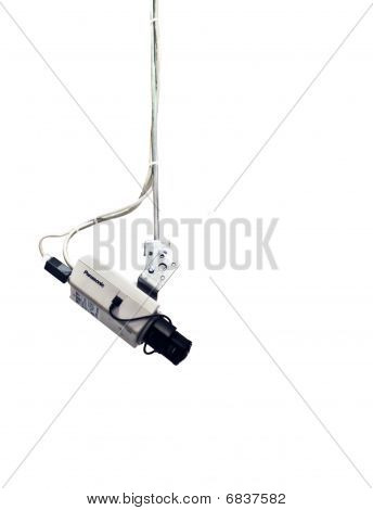 Cctv Security Camera Isolated