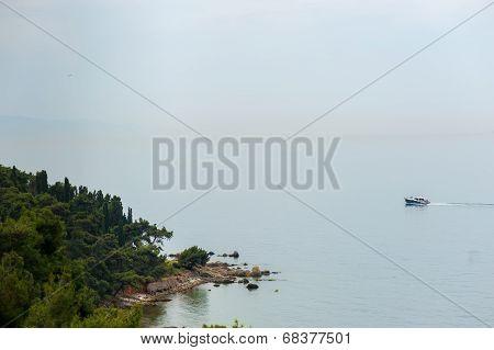 Marmara Sea In Buyukada
