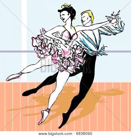 Dancer ballet ballerina