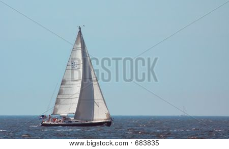 Sailing On A Summerday