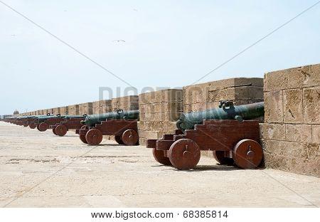 Cannons Essaouira