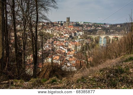 View of Fribourg, Switzerland