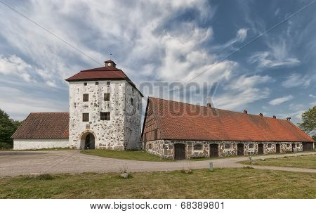 Hovdala Slott Gatehouse And Stables