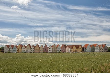 Jakriborg From Wheat Field