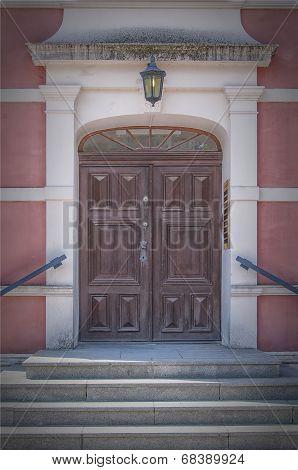 Palsjo Slott Entrance