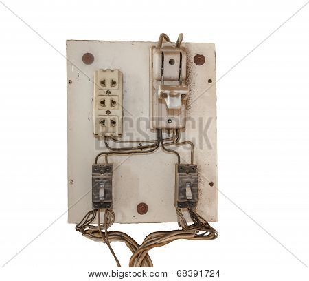 Panel Switch On - Off Power.