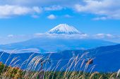 image of mount fuji  - Fuji mountain in morning time - JPG