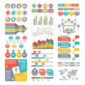 picture of booklet design  - Infographic Elements Collection  - JPG
