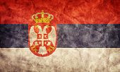 picture of serbia  - Serbia grunge flag - JPG