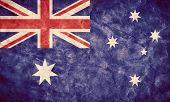 foto of high-quality  - Australia grunge flag - JPG
