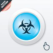 foto of biohazard symbol  - Biohazard sign icon - JPG