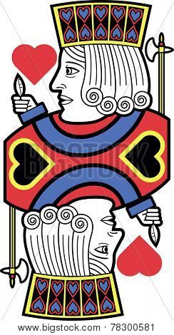 Stylized Jack of Hearts without card version