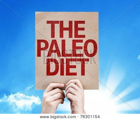 The Paleo Diet card with beautiful day