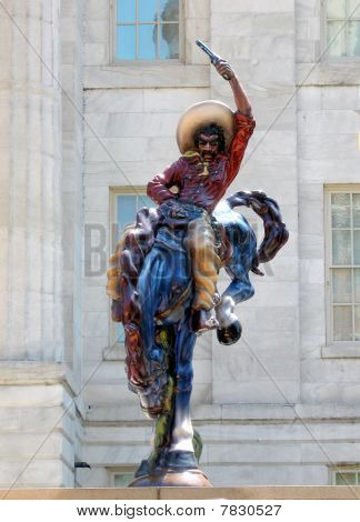 Washington Vaquero Statue