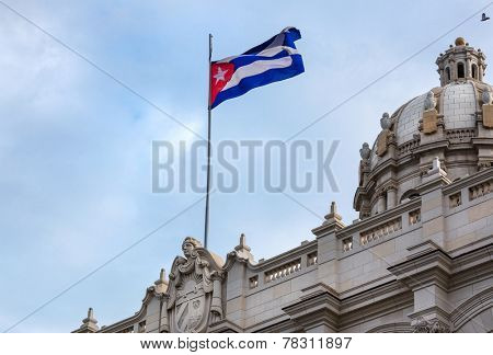 Museum of the Revolution in Havana city