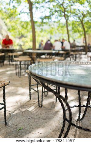 Famous dervish restaurant in Blagaj Buna, near to Mostar in Bosnia and Herzegovina