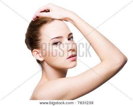 Beautiful Glamour Woman Face