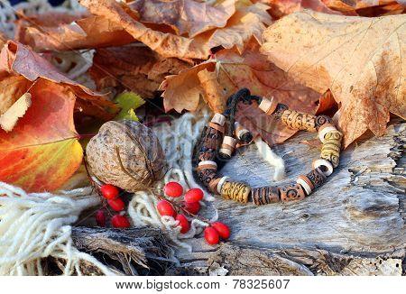 Ethnic Handmade Clay Bracelet