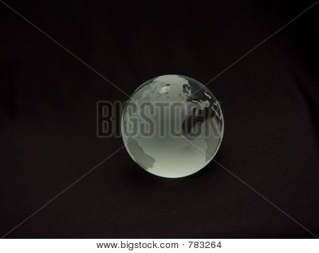 Glass Globe of the World