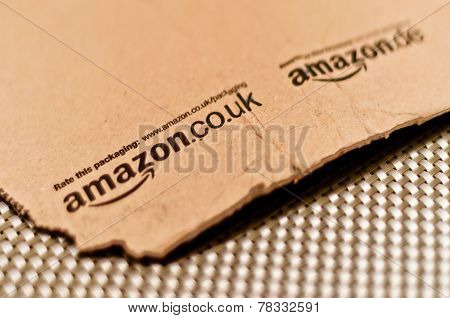 Detail Of Typical Amazon Package