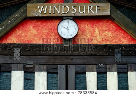 Windsurfing rent and sale office