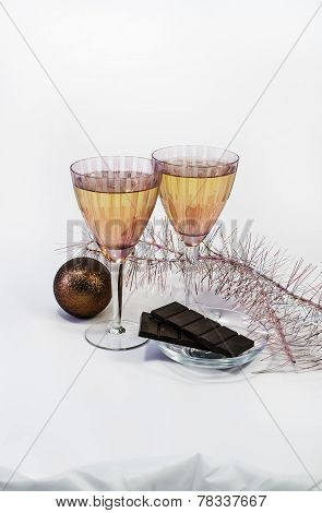 Champagne By New Year
