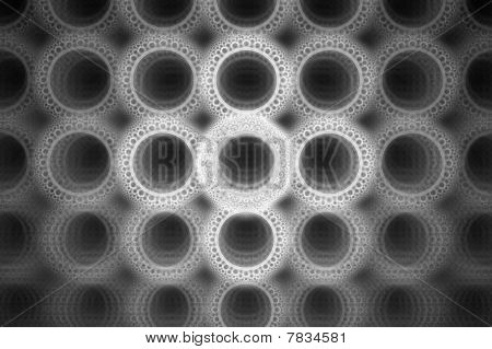 Círculo brillante de burbuja audaz diseño