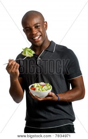 Man With Salad