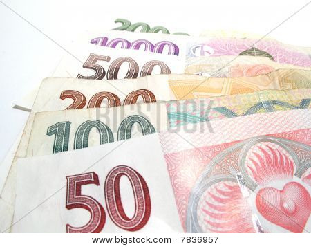 Czech banknotes