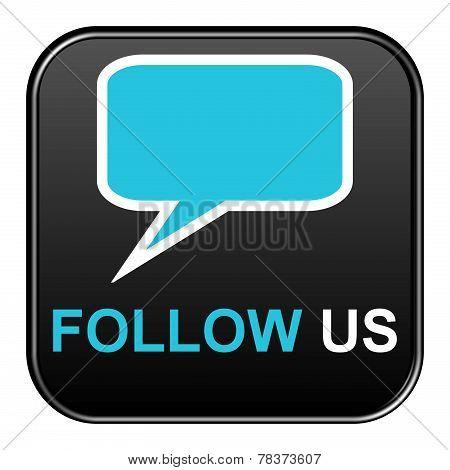 Black Button Follow us
