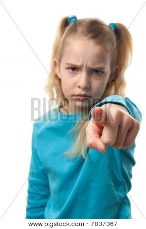 Girl Is Pointing At You