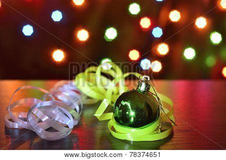 Green Chistmas Ball