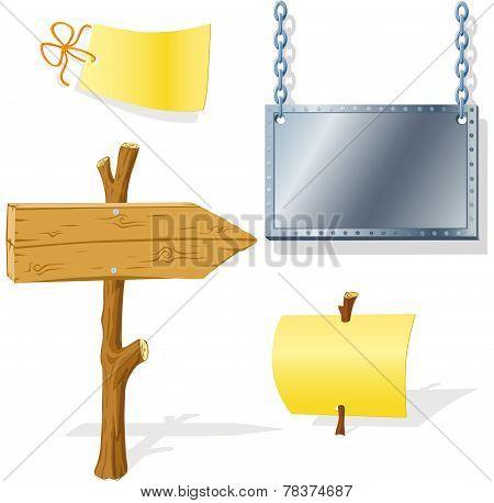 Board Arrow Indicator Message