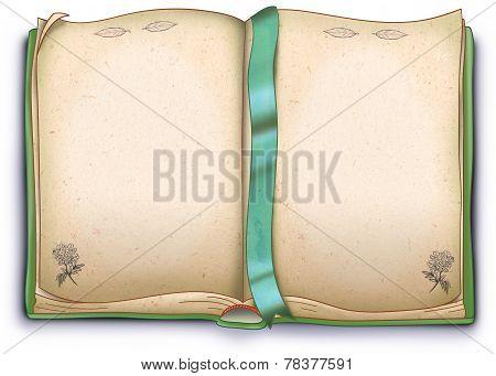 Herbal book illustration